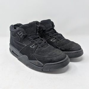2012 Nike Air Flight '89 All Black Men's size 10
